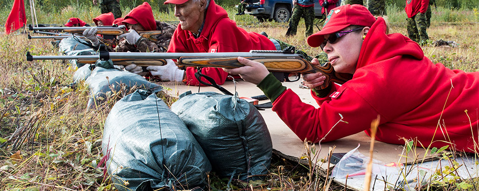 Slide - Canadian Rangers approve of smaller, more powerful new rifles