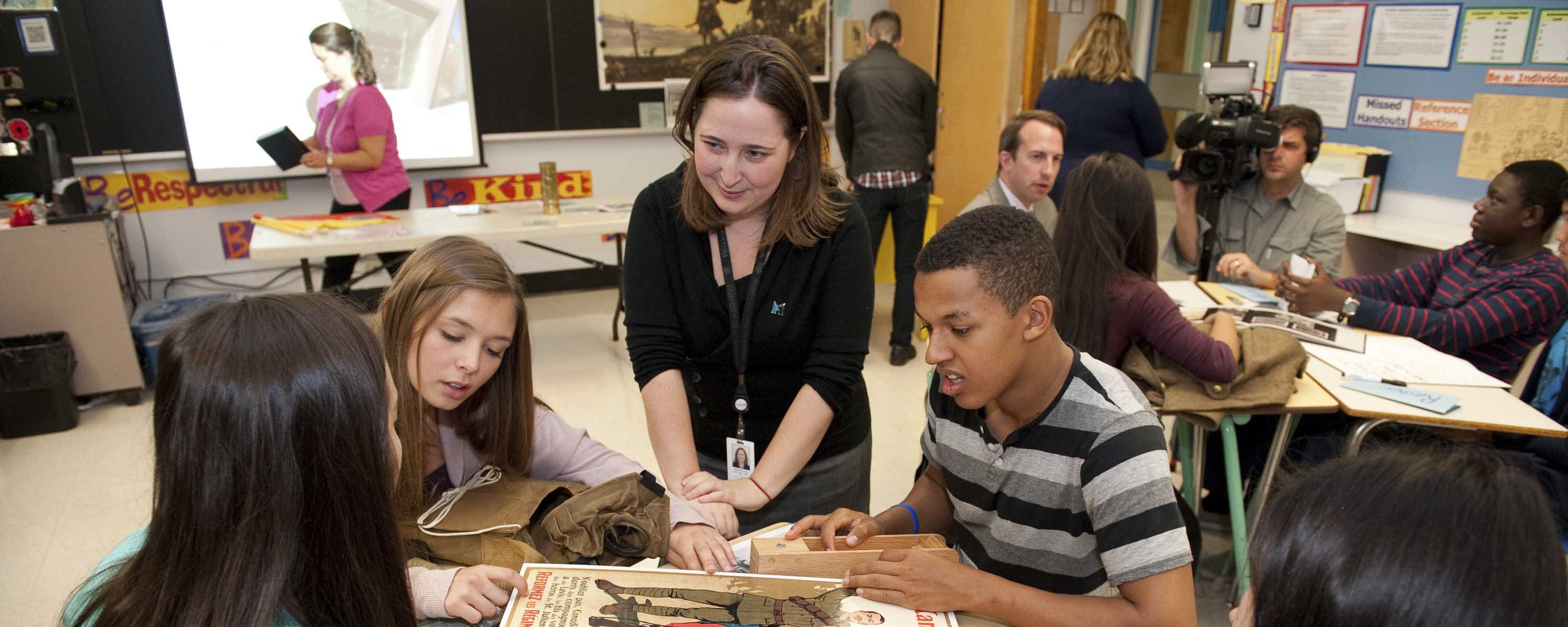 Slide - First World War Discovery Box program lets students touch the First World War